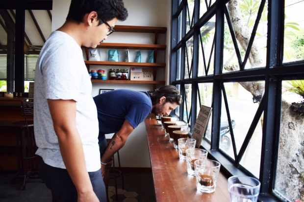 Smelling the coffees