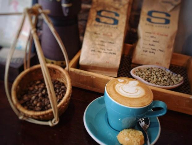 Cappuccino - artistic arrangement