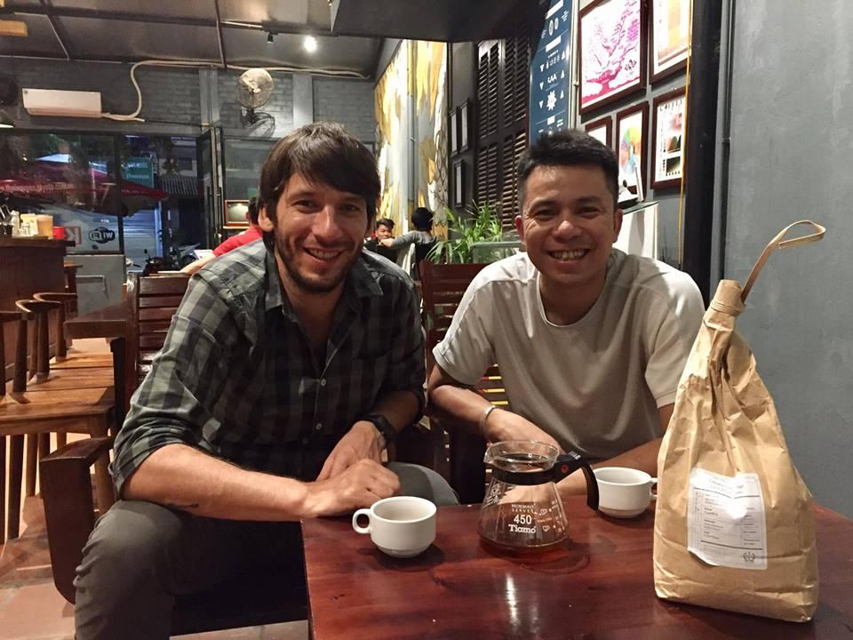 Cuong from Xuong Ca Phe