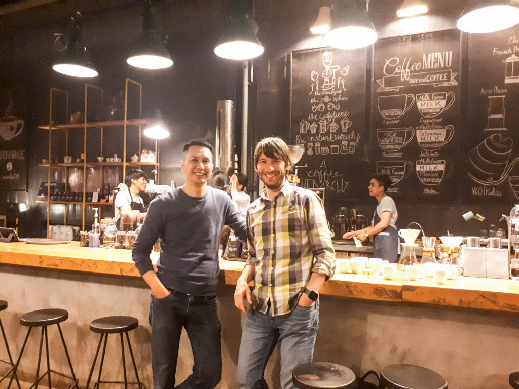La Viet Coffee shop, Mr. Tran Nhat Quang